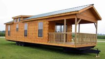 Tiny Houses Log Cabin On Wheels for Sale