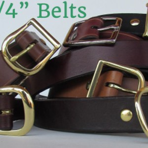 leather belts 1 1/4""
