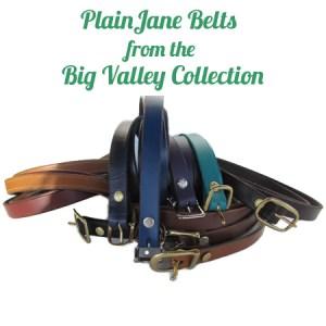 women's thin leather belts
