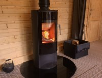 Can I install a wood burning stove in my log cabin ...