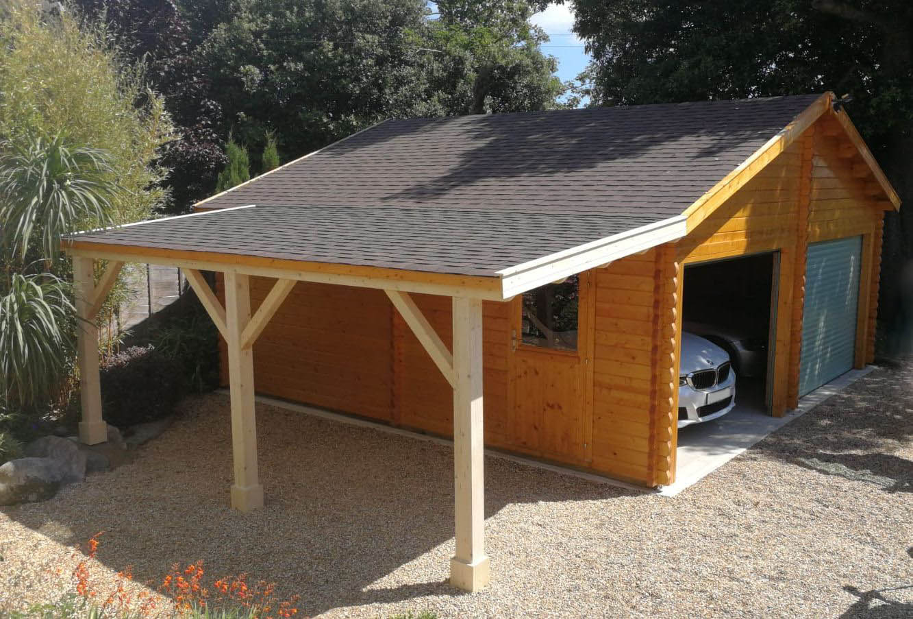 Keops Interlock Garages Workshops Keops Interlock Log Cabins