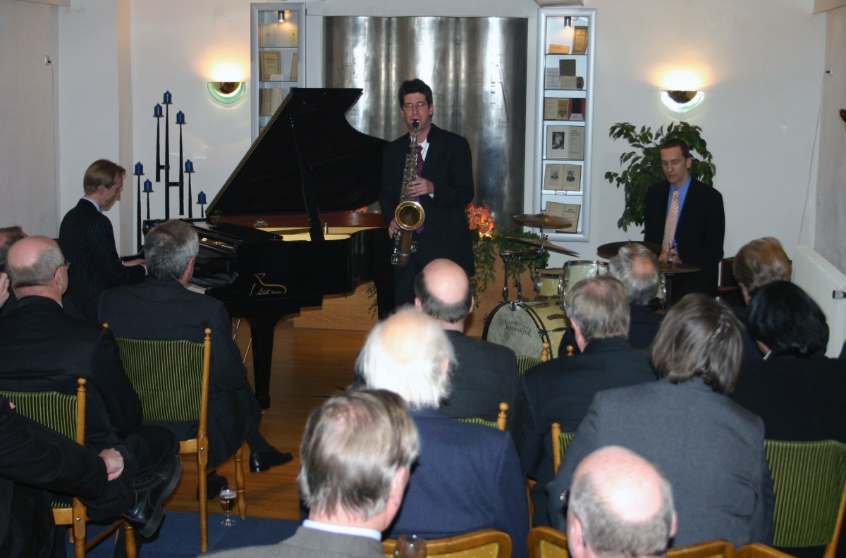 2006/01/28 – Benefiz-Konzert mit dem Christ Hopkins Trio