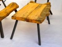 Cabin Coffee Table | LogFurnitureHowTo.com