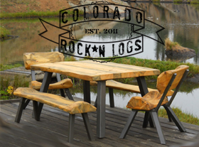 Colorado Rock N Logs