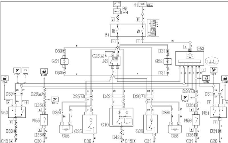 Elektrik / OBD / Steuergeräte Innenraumlicht beim 166 geht