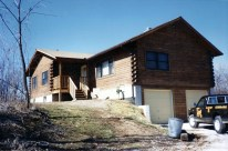 New Log Home #33