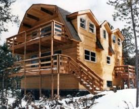 New Log Home #40