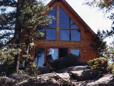 New Log Home #42