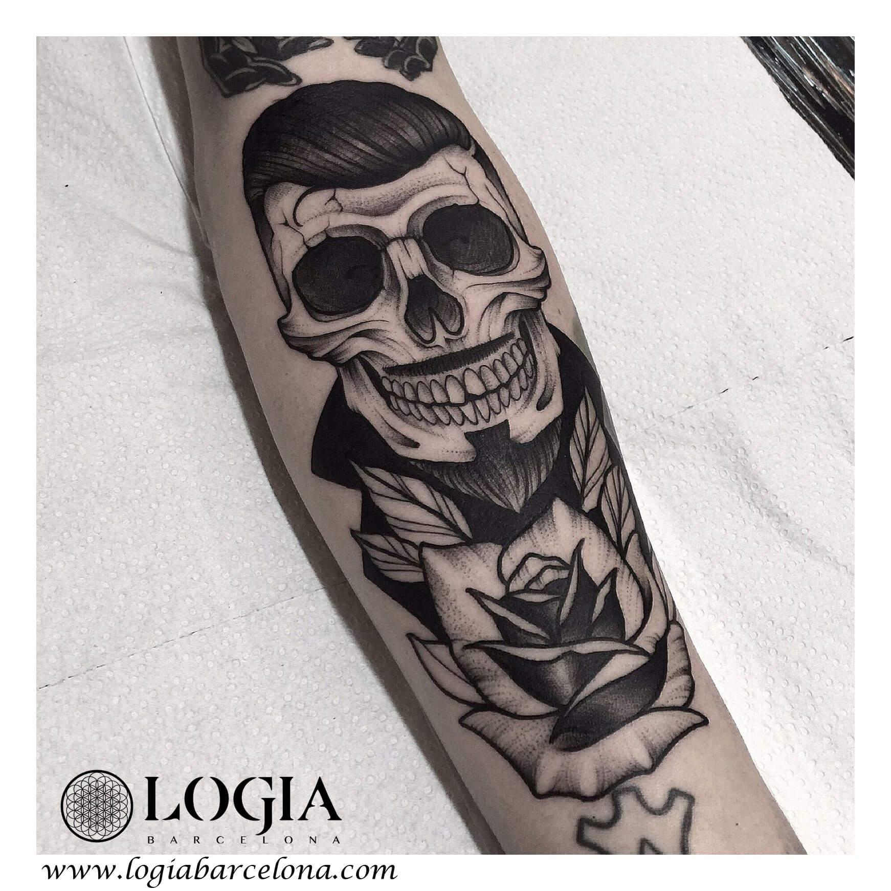 Los Tatuajes Góticos Tatuajes Logia Barcelona