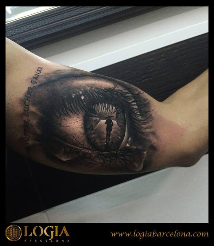 Los Tatuajes De Ojos Y Su Significado Logia Tattoo Barcelona