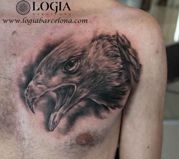 Tatuajes En El Pecho Tatuajes Logia Barcelona