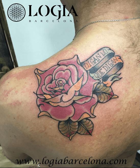 Tatuajes En El Omóplato Tatuajes Logia Barcelona