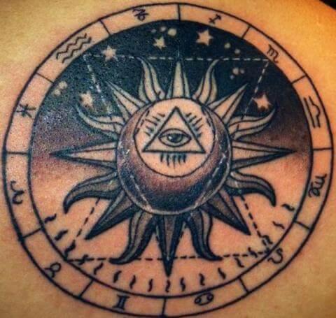 El Sol En Los Tatuajes Tatuajes Logia Barcelona