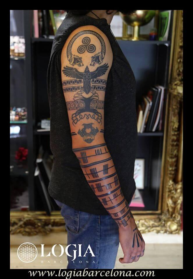 Tatuajes En El Brazo Dudas Y Ejemplos Logia Tattoo Barcelona
