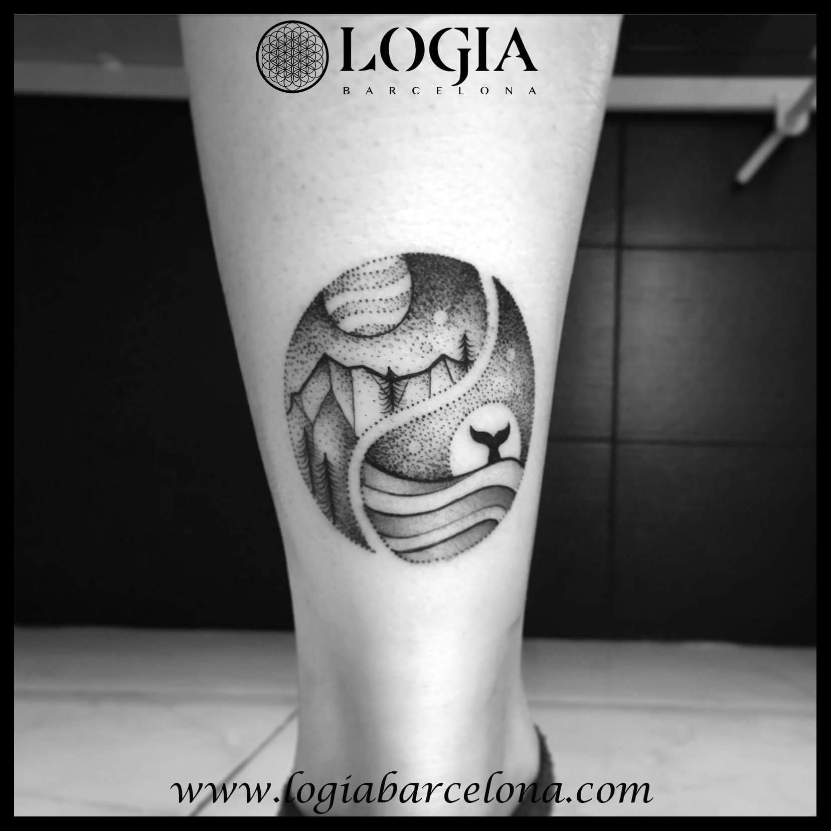Tatuajes De Ying Yang Tatuajes Logia Barcelona