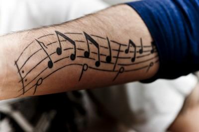 Tatuajes De Notas Musicales Tatuajes Logia Barcelona