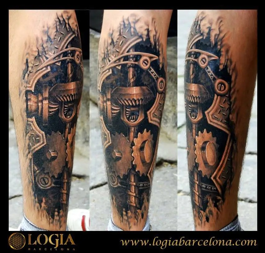 Tatuajes Realistas Tatuajes Logia Barcelona