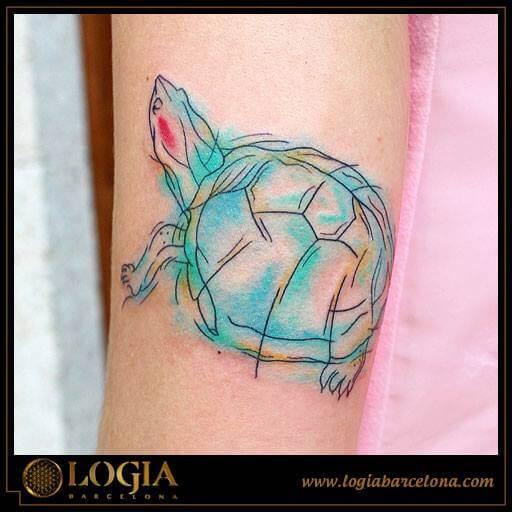 Tatuajes Watercolor Tatuajes Logia Barcelona