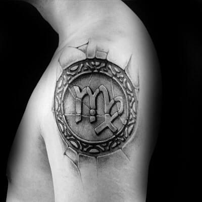 Los Tatuajes De Virgo Tatuajes Logia Barcelona