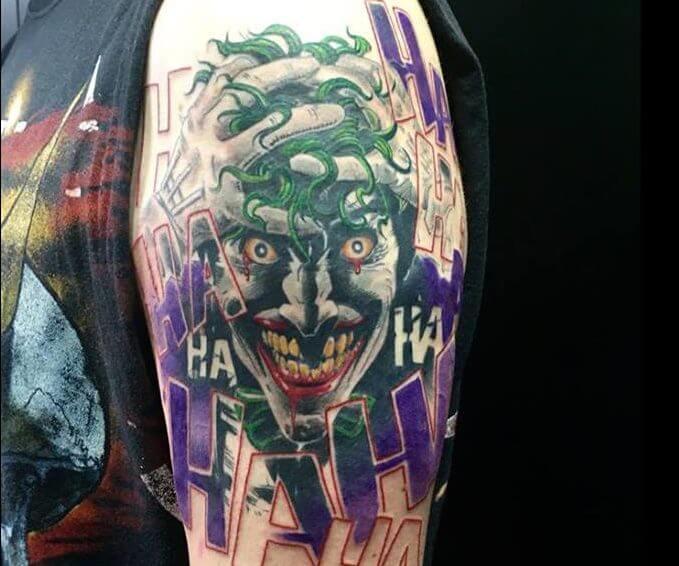 Tatuajes Del Joker Tatuajes Logia Barcelona