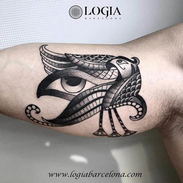 Tatuajes Del Ojo De Horus Tatuajes Logia Barcelona