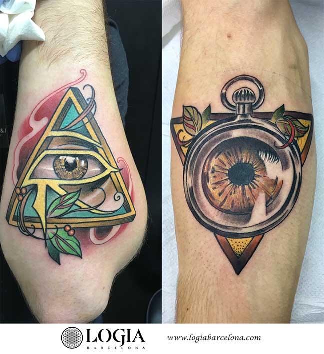 Tatuajes De Triángulos 2019 Logia Tattoo Barcelona