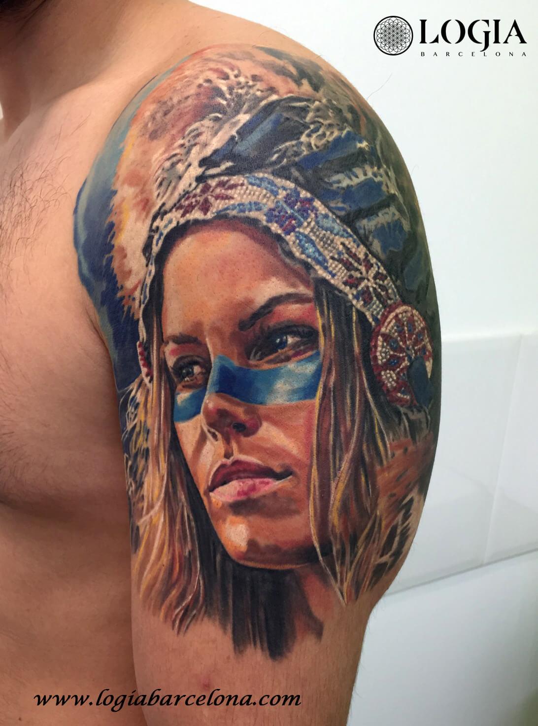 Tatuajes Indios Tattoos De Indios Americanos Logia Tattoo Barcelona