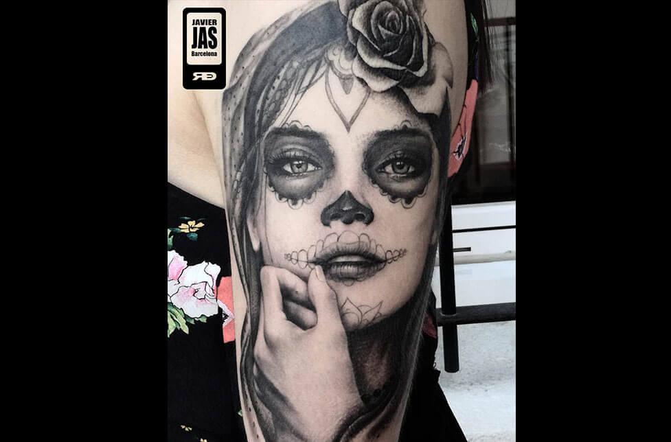 Tatuajes Para Celebrar El Día De Los Muertos Tatuajes Logia Barcelona