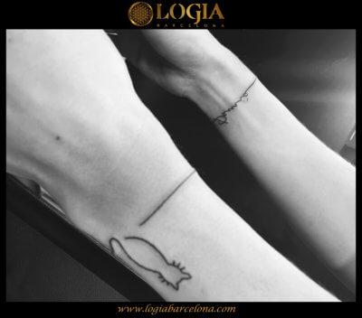 Quieres Un Tatuaje En La Muñeca Tatuajes Logia Barcelona