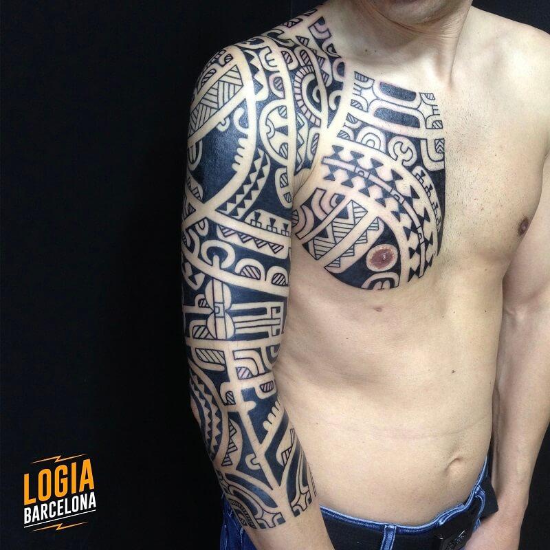 Tatuaje Maorí Técnicas Y Significado Tatuajes Logia Barcelona
