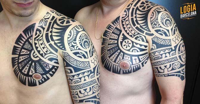 Tatuajes En El Hombro Tatuajes Para Hombre Y Mujer En Logia Tattoo
