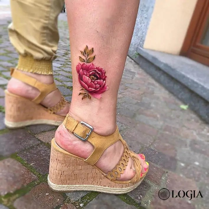 Tatuajes En El Tobillo Para Lucir En Verano Logia Tattoo Barcelona
