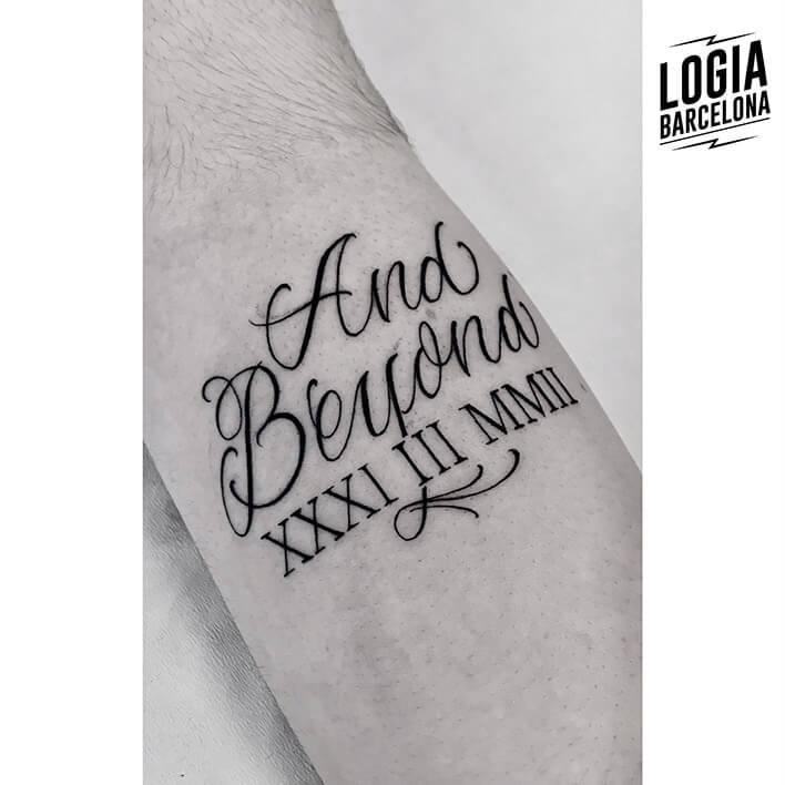 Tatuajes Romanos Logia Tattoo Barcelona
