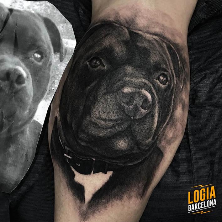 Tatuajes De Perros Logia Tattoo Barcelona