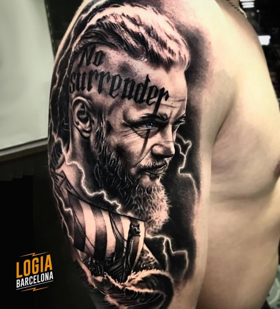 Tatuaje Logia Barcelona Tattoo