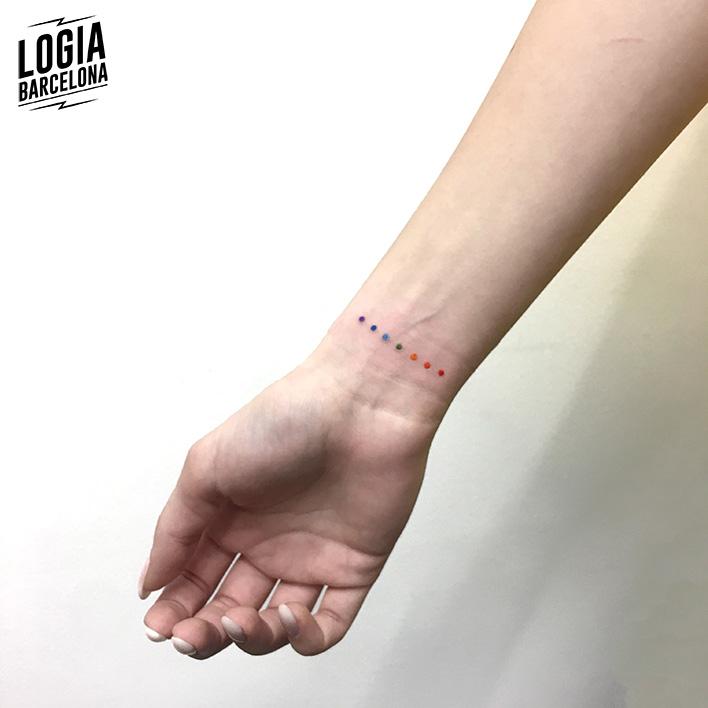 minimalist tattoo logia tattoo