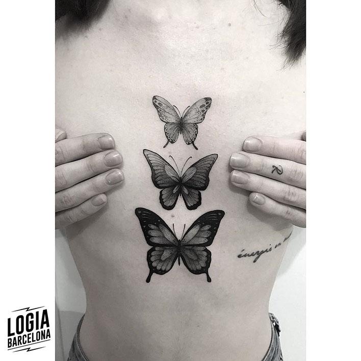 Tatuajes De Mariposas Y Su Significado Tatuajes Logia Barcelona
