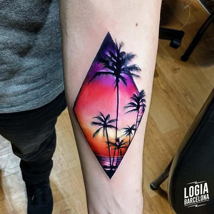 Tatuajes En El Brazo Para Lucir En Primavera Logia Tattoo Barcelona