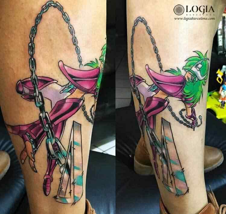 Trabajos ángel Oviedo Logia Tattoo