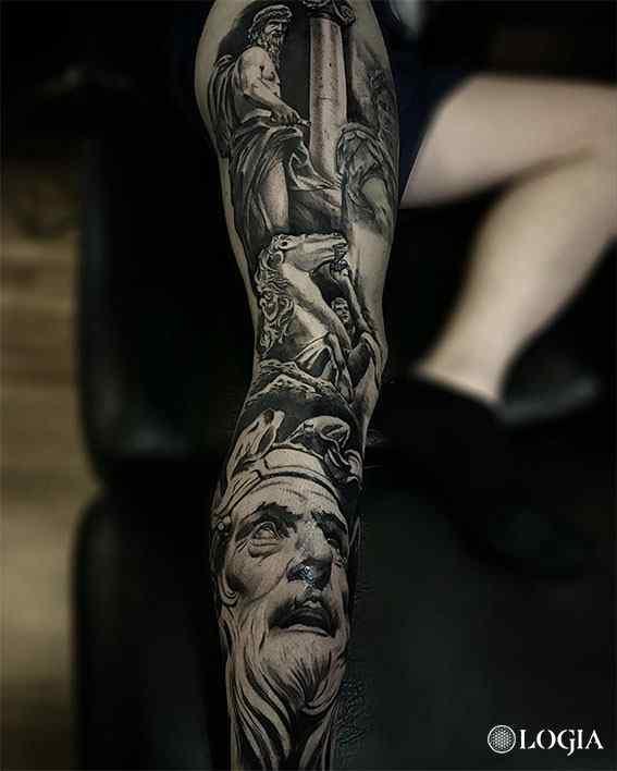 Trabajos Diego Fernández Logia Tattoo