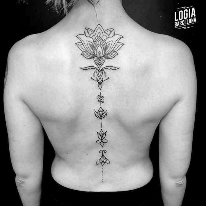 Tatuaje Unalome Tatuajes Logia Barcelona