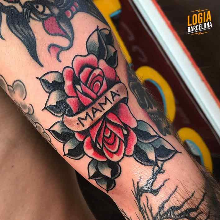Tatuajes Madre Estudio De Tatuaje Logia Barcelona