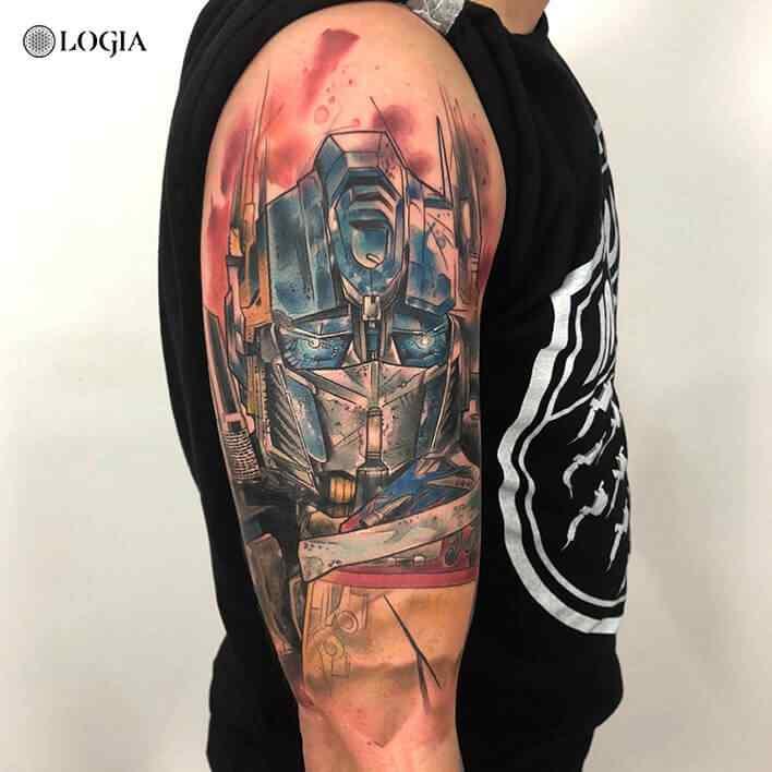 Fotos De Tatuajes Rzychu Logia Tattoo Barcelona