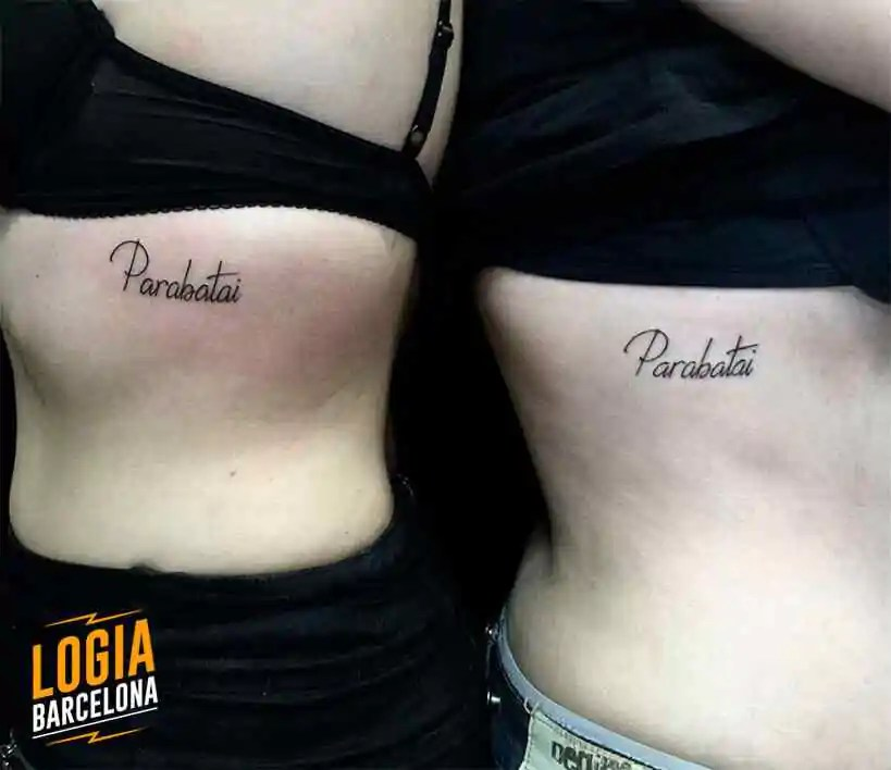 Tatuajes Para Parejas Bonitos Y Originales Logia Tattoo Barcelona