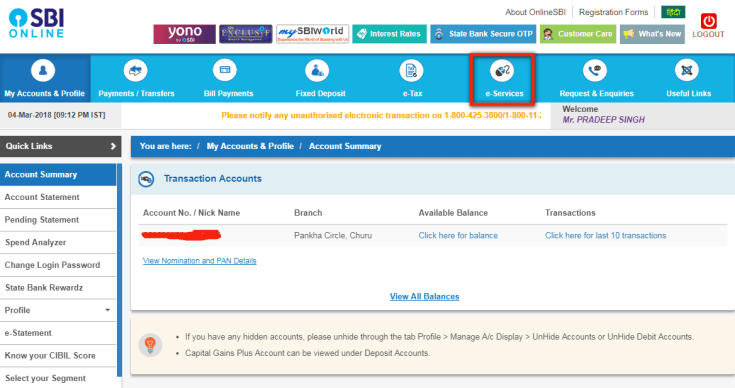 SBI Debit Card Online Kaise Apply Kare