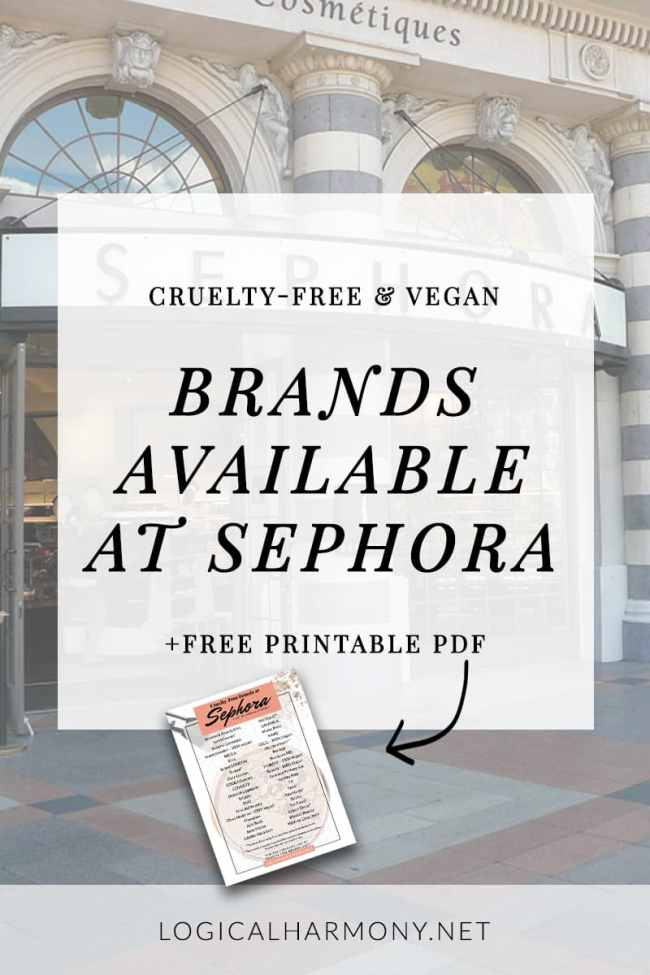 Cruelty-Free Brands Available at Sephora