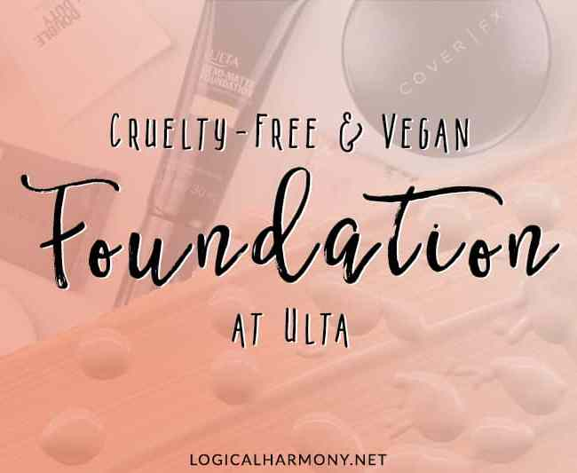 Cruelty-Free & Vegan Foundation at Ulta