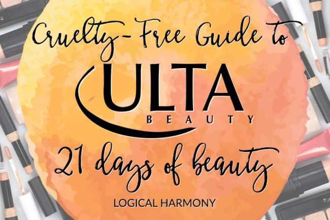 Ulta 21 Days of Beauty Cruelty-Free Guide
