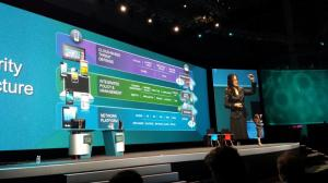 Padmasree Warrior speaks on the next generation of IT. Photo courtesy @LogicalisMikeJ