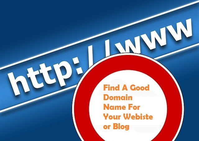 how to find good domain name